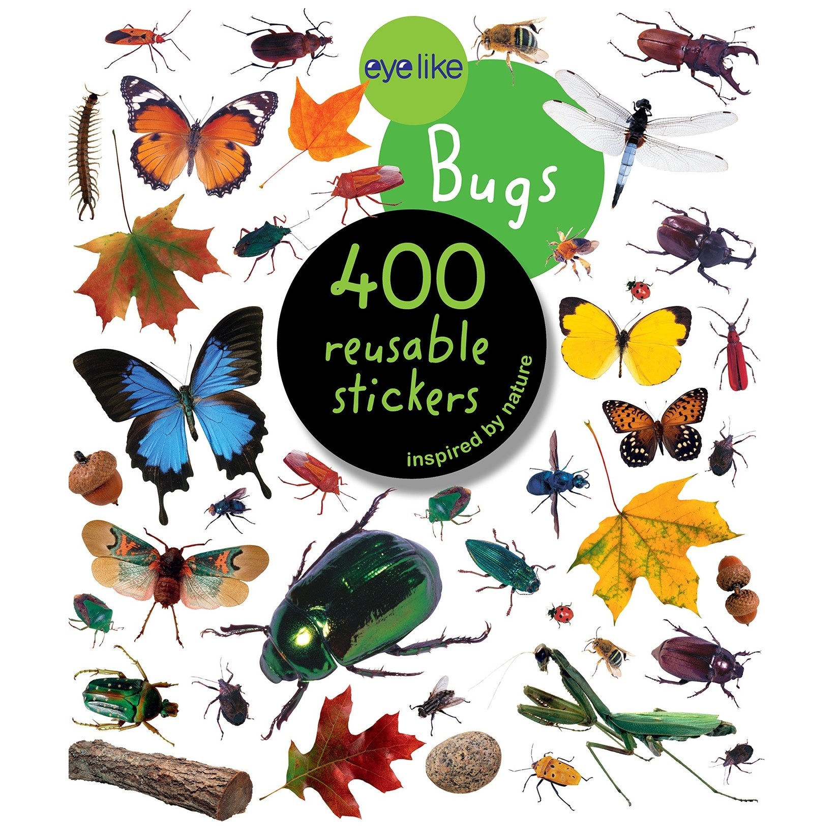 Bugs Reusable Stickers