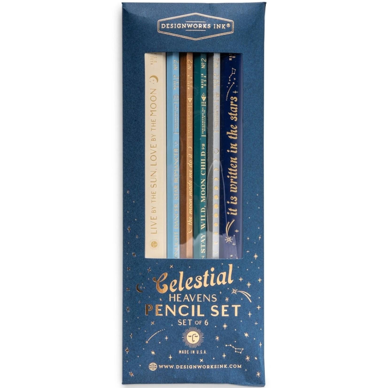 Celestial Heavens Pencil Set