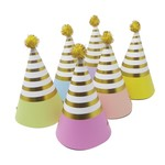 Party Partners Design Mini Pastel Party Hats