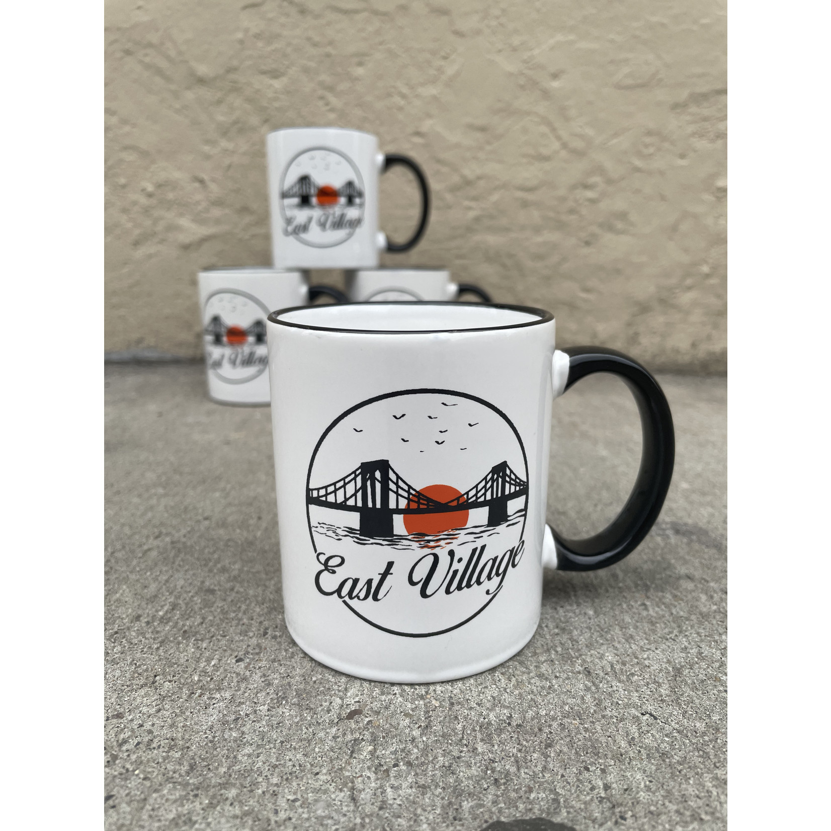 Exit9 Gift Emporium East Village Sunset Mug
