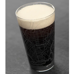 Brooklyn Map Pint Glass