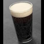 Brooklyn Map Pint Glass