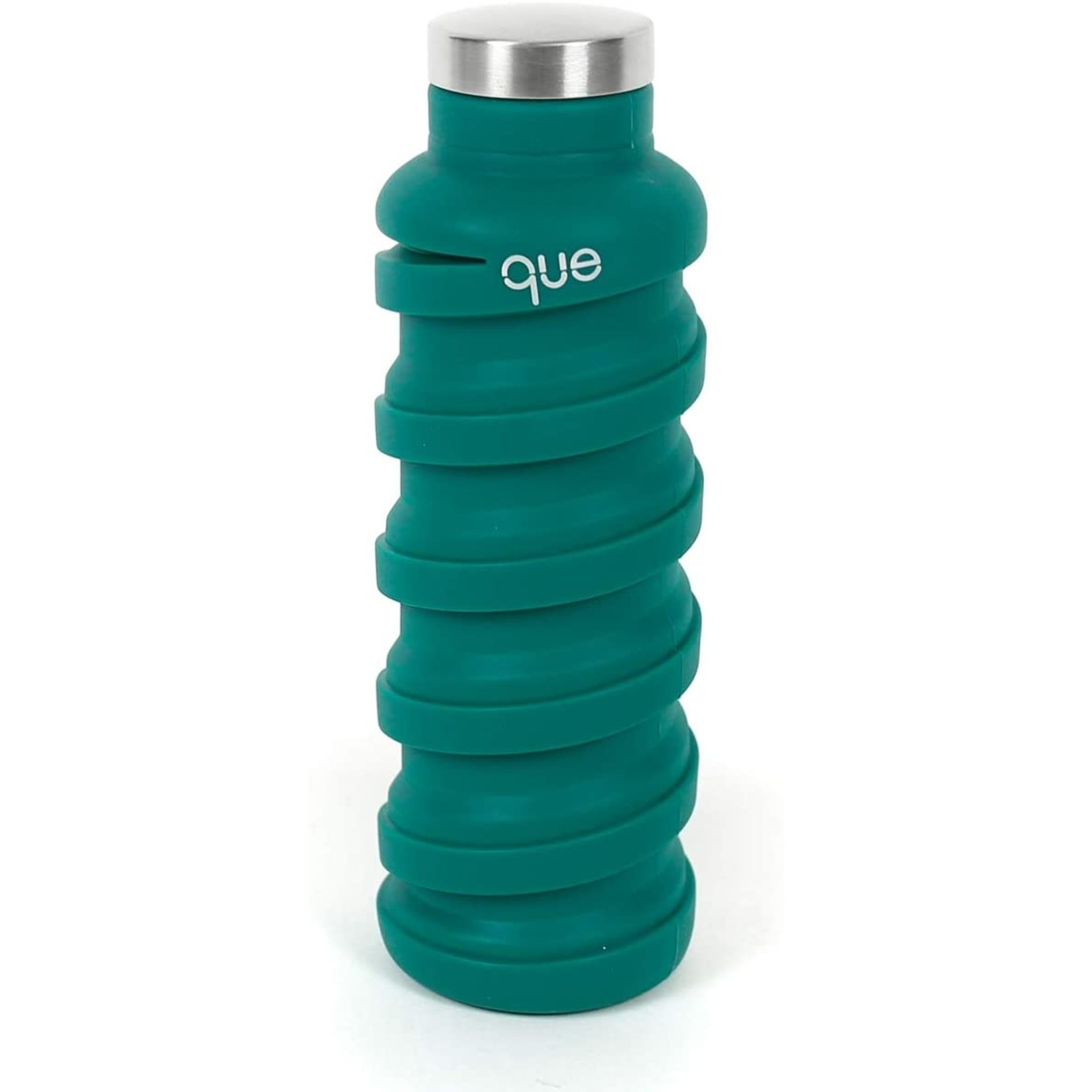 Que Que Bottle in Forest Green