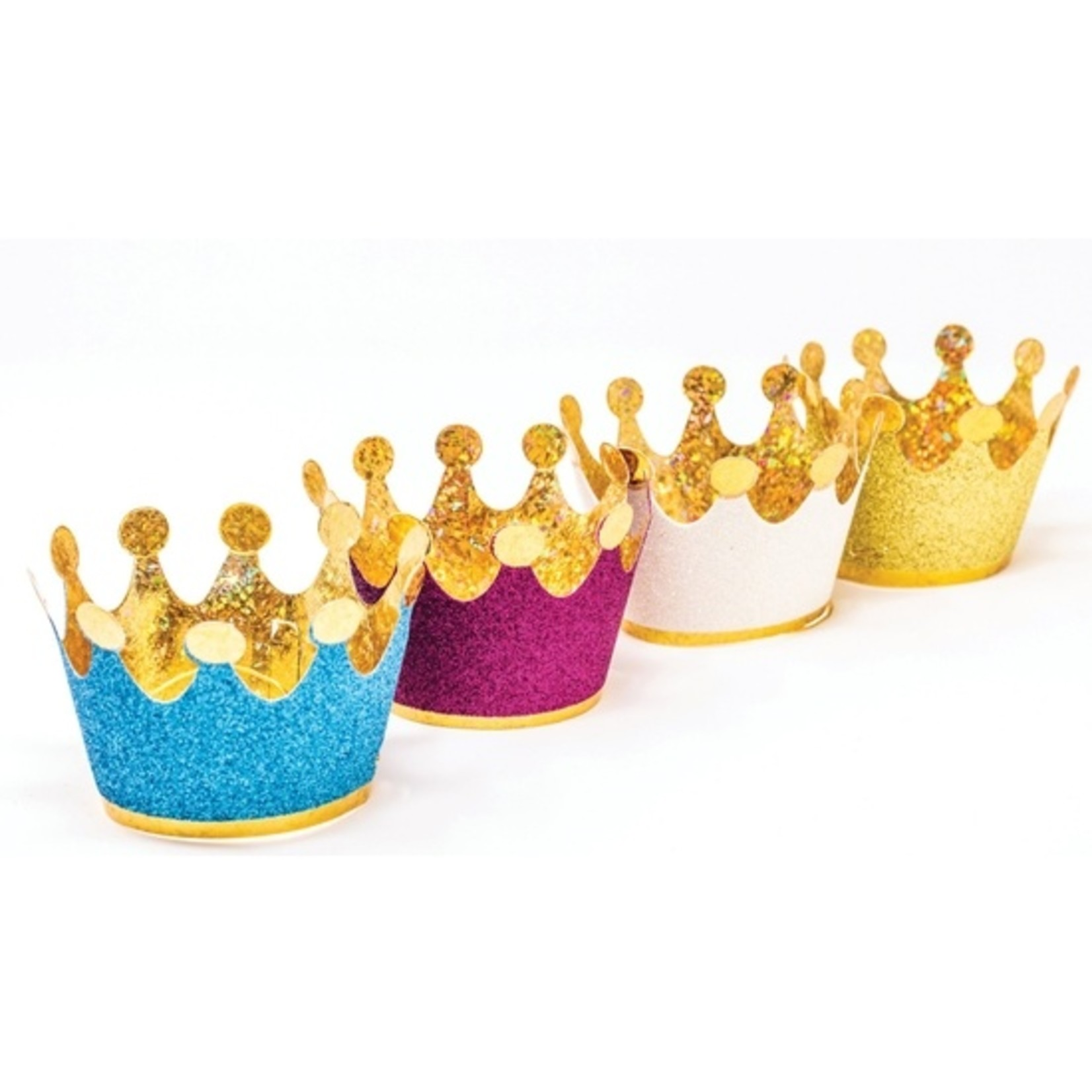 Party Partners Design Colorful Mini Crowns