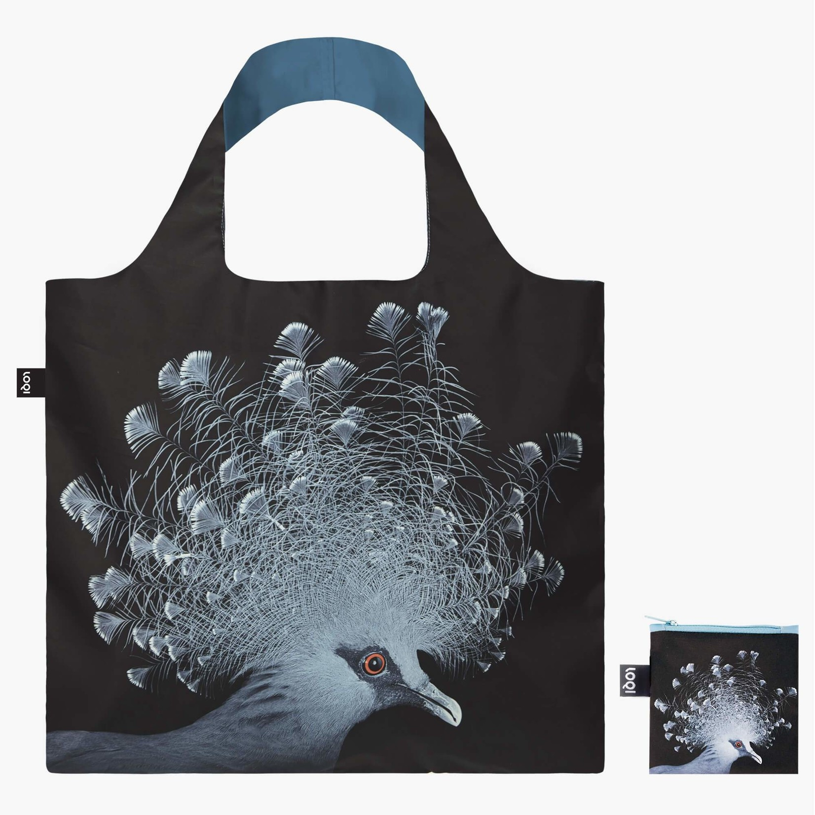 Loqi Bag: Crowned Pigeon