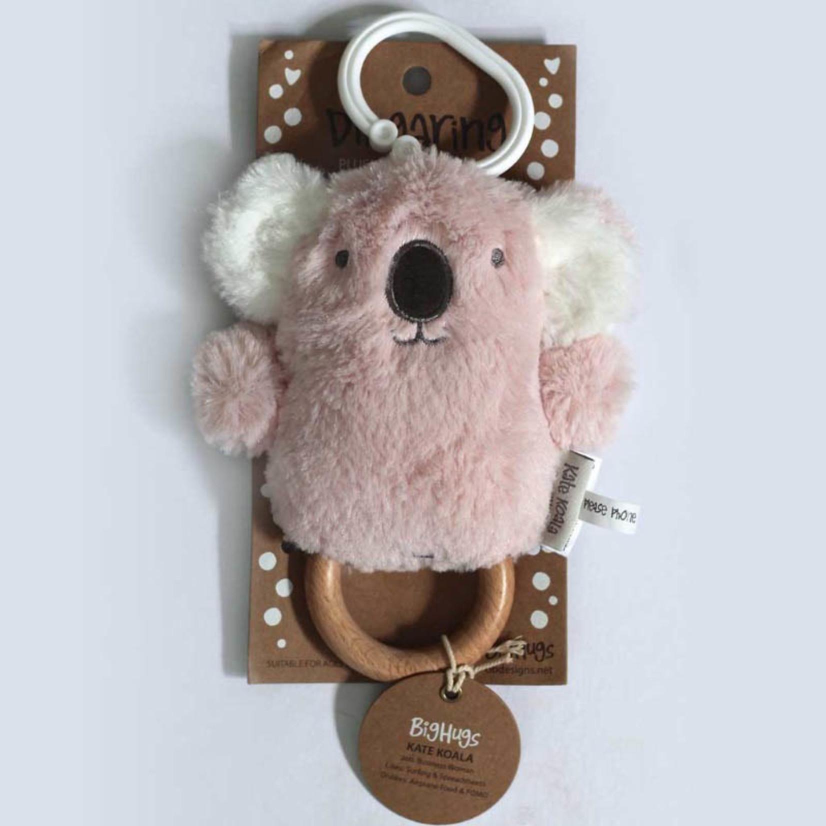Kate Koala Wooden Baby Teether