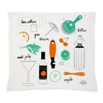 Claudia Pearson Cocktail Tea Towel