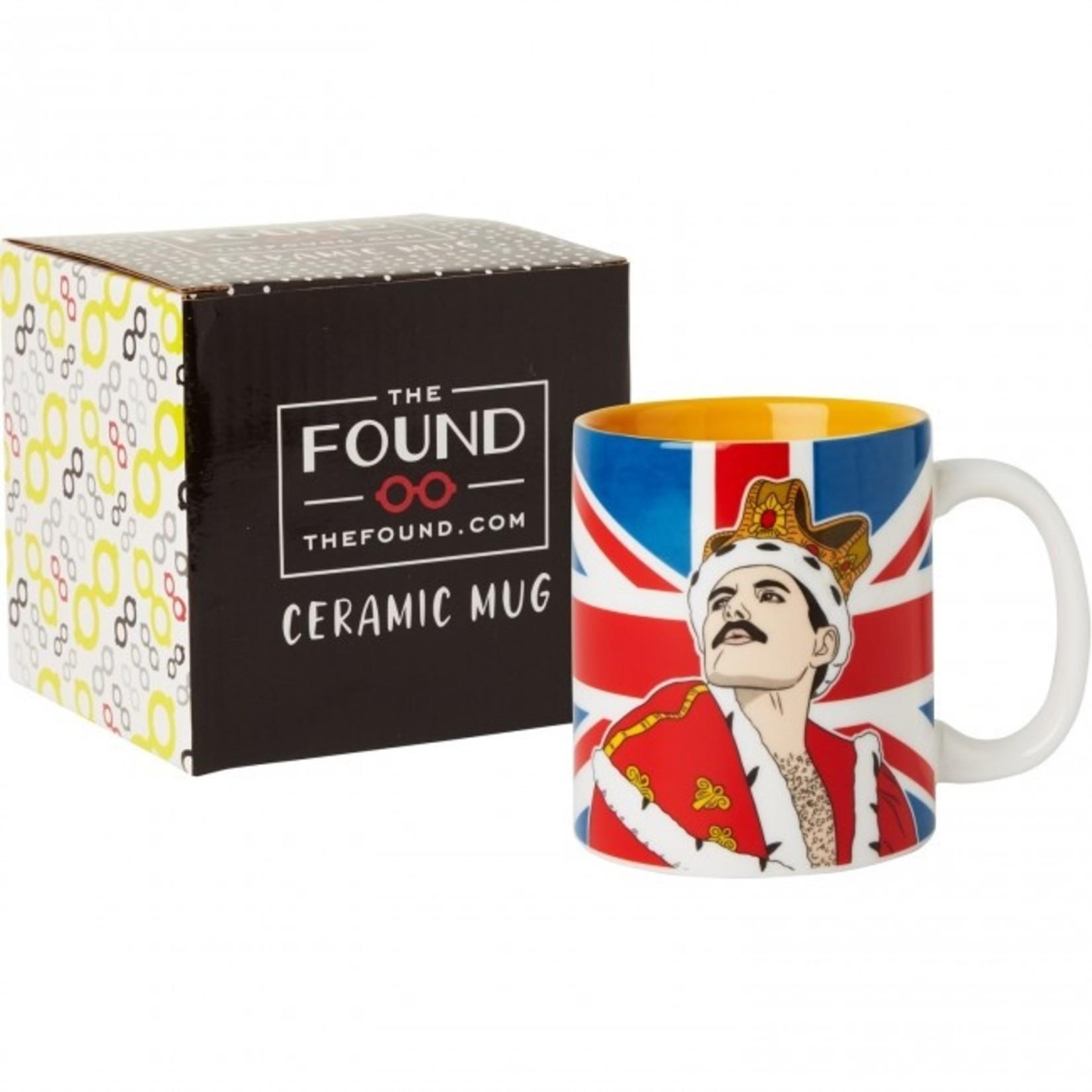 The Found Freddie Mercury Mug