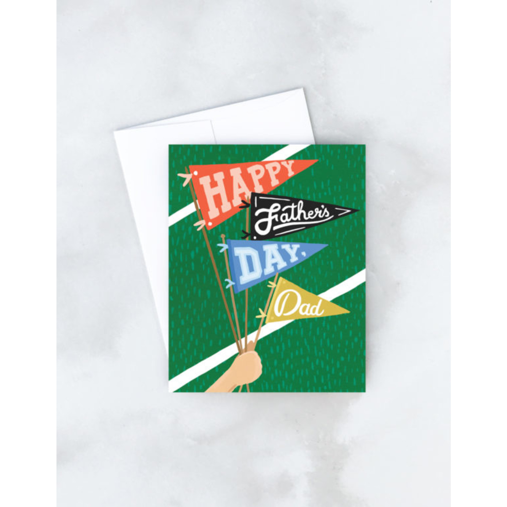 Father's Day Card: Pennants