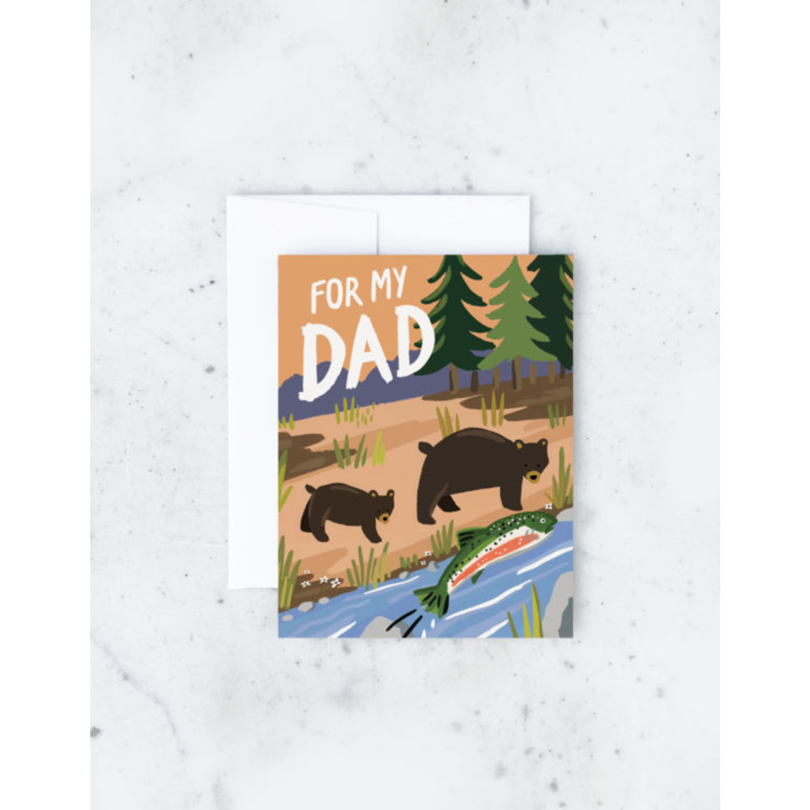 Father's Day Card: Fishing Bears