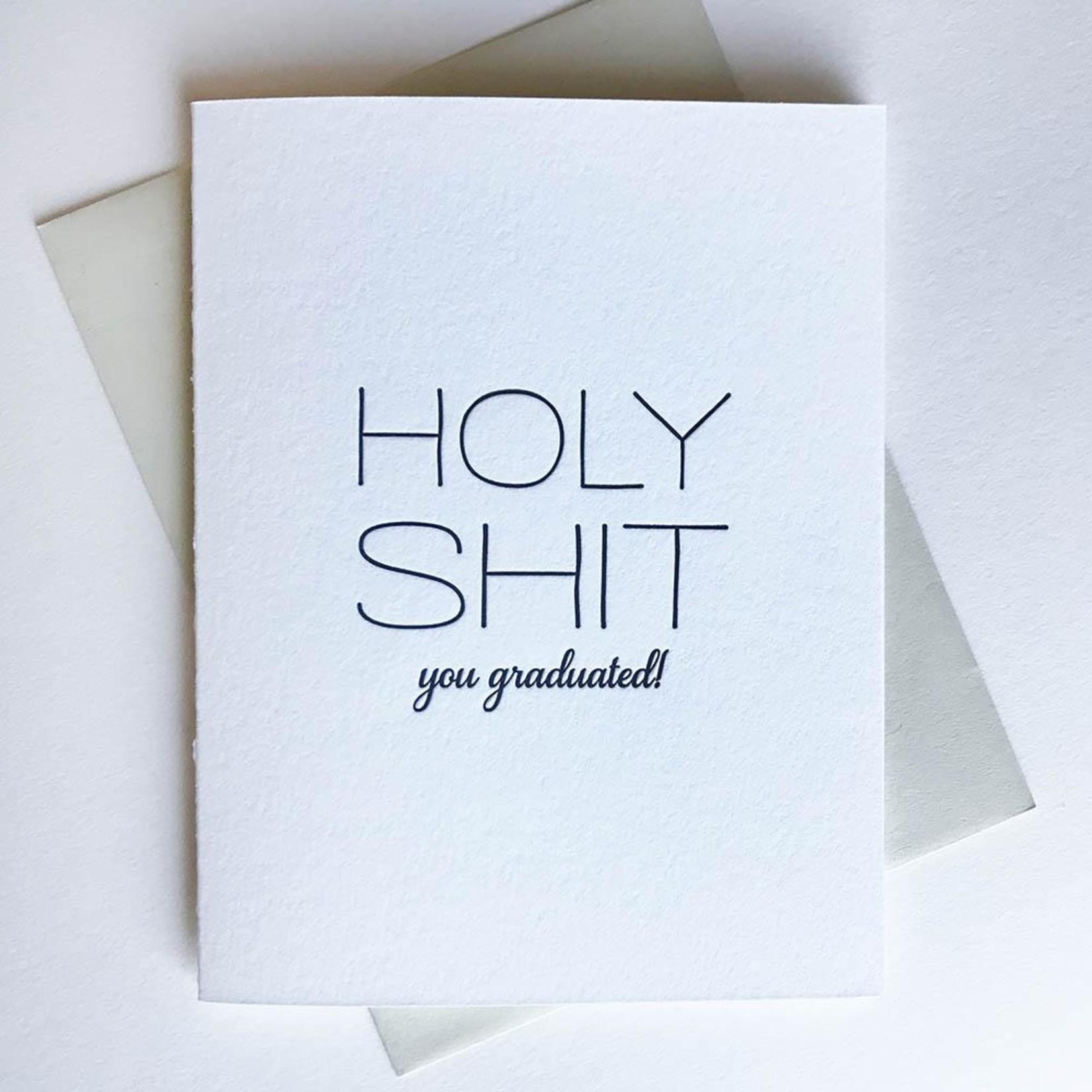 Graduation Card: Holy Shit