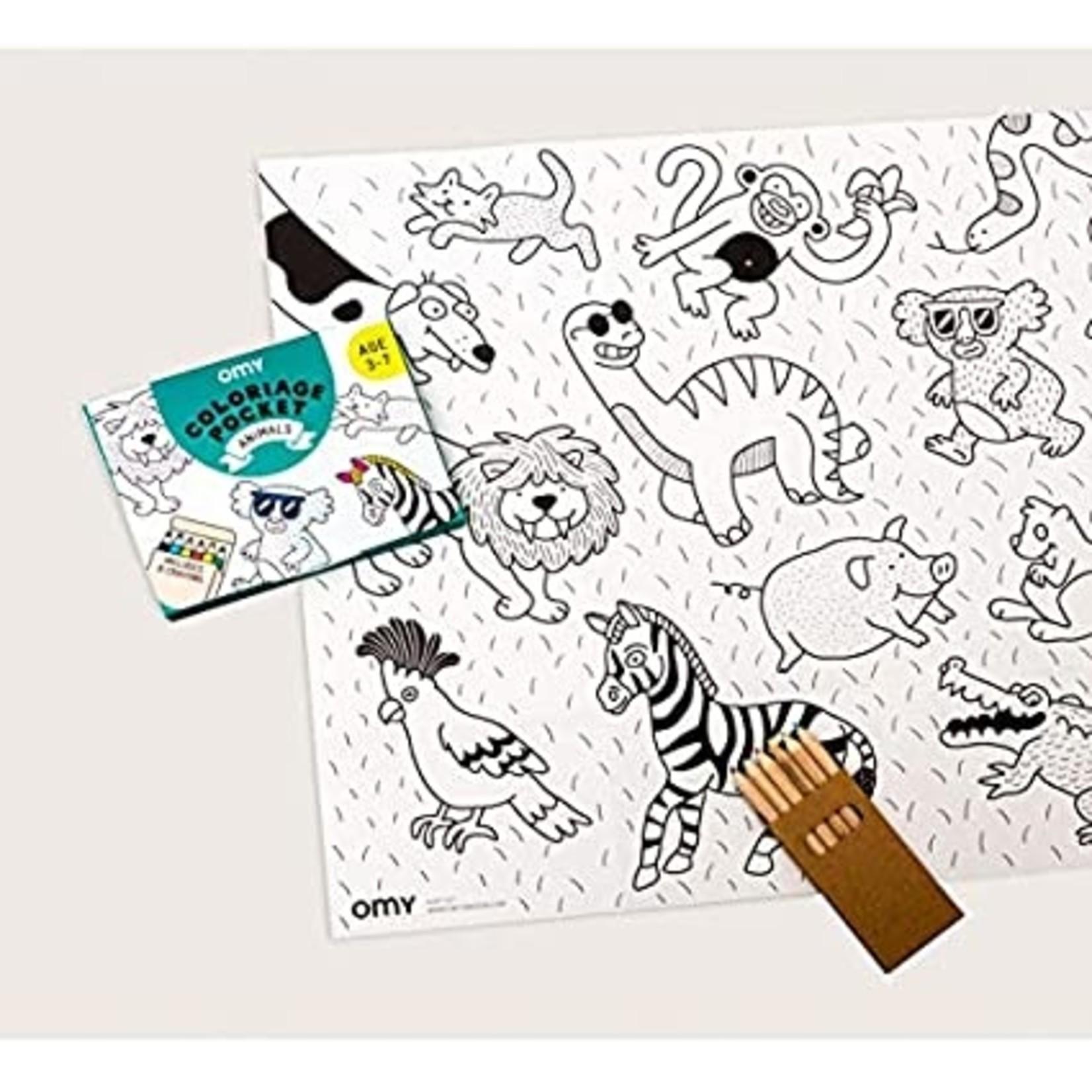 Animals Pocket Coloring