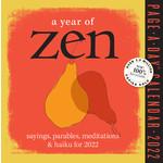 Workman Publishing Year of Zen Boxed Calendar 2022