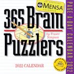 Workman Publishing Mensa Brain Puzzlers Boxed Calendar 2022