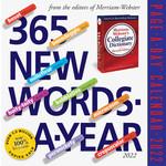 Workman Publishing New Words Boxed Calendar 2022
