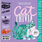 Workman Publishing Cat Trivia Boxed Calendar 2022