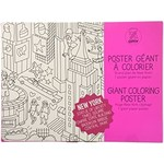 OMY New York Giant Coloring Poster