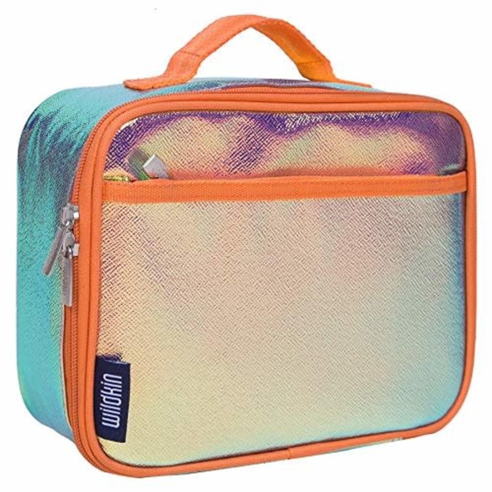 Orange Shimmer Lunch Box