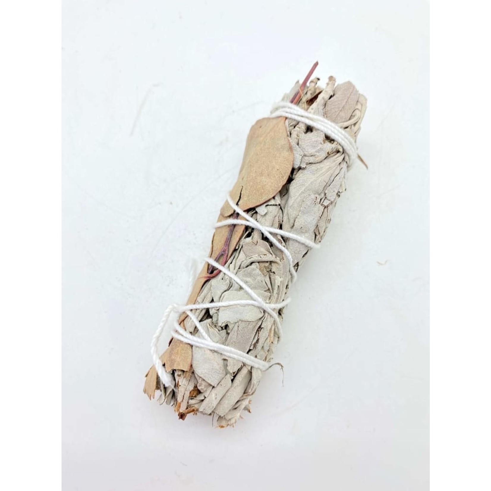 White Sage & Eucalyptus  Smudge Sticks