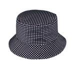Black & White Checkered Bucket Hat