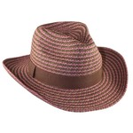Pink Two Tone Cowboy Hat