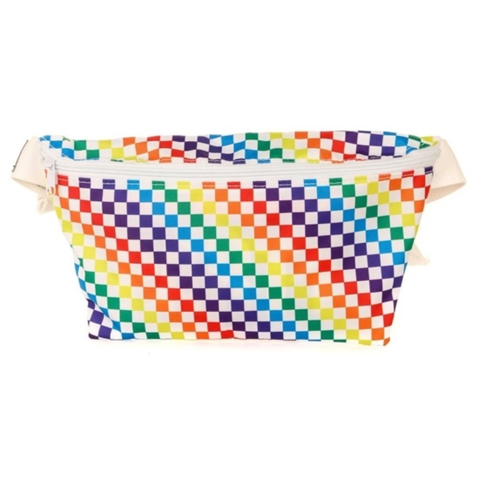 FYDELITY FYDELITY Fanny Pack Indy Rainbow Xl Ultra-slim