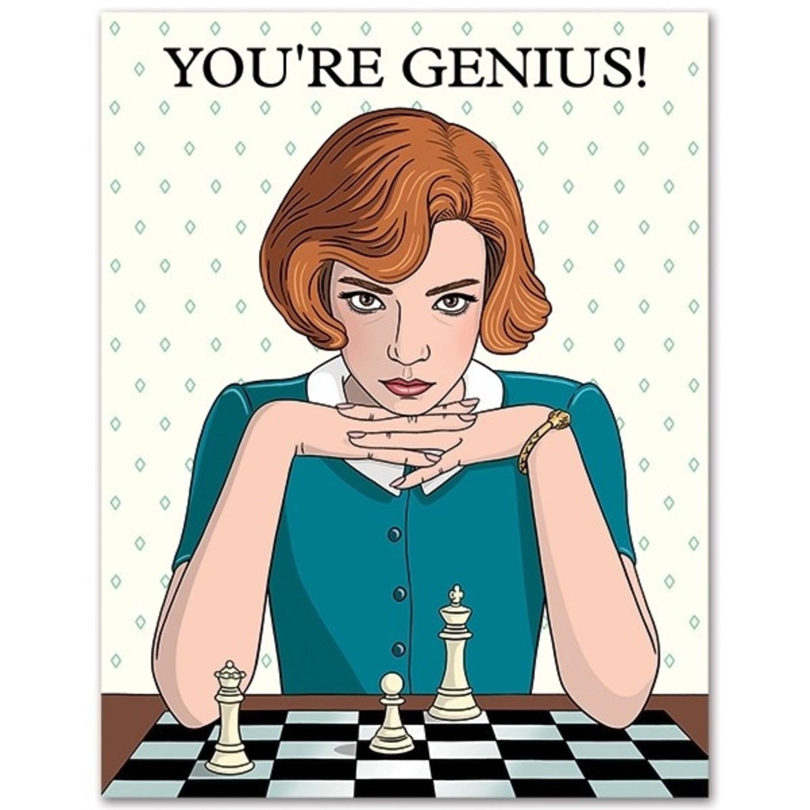 Birthday Card: You're Genius!