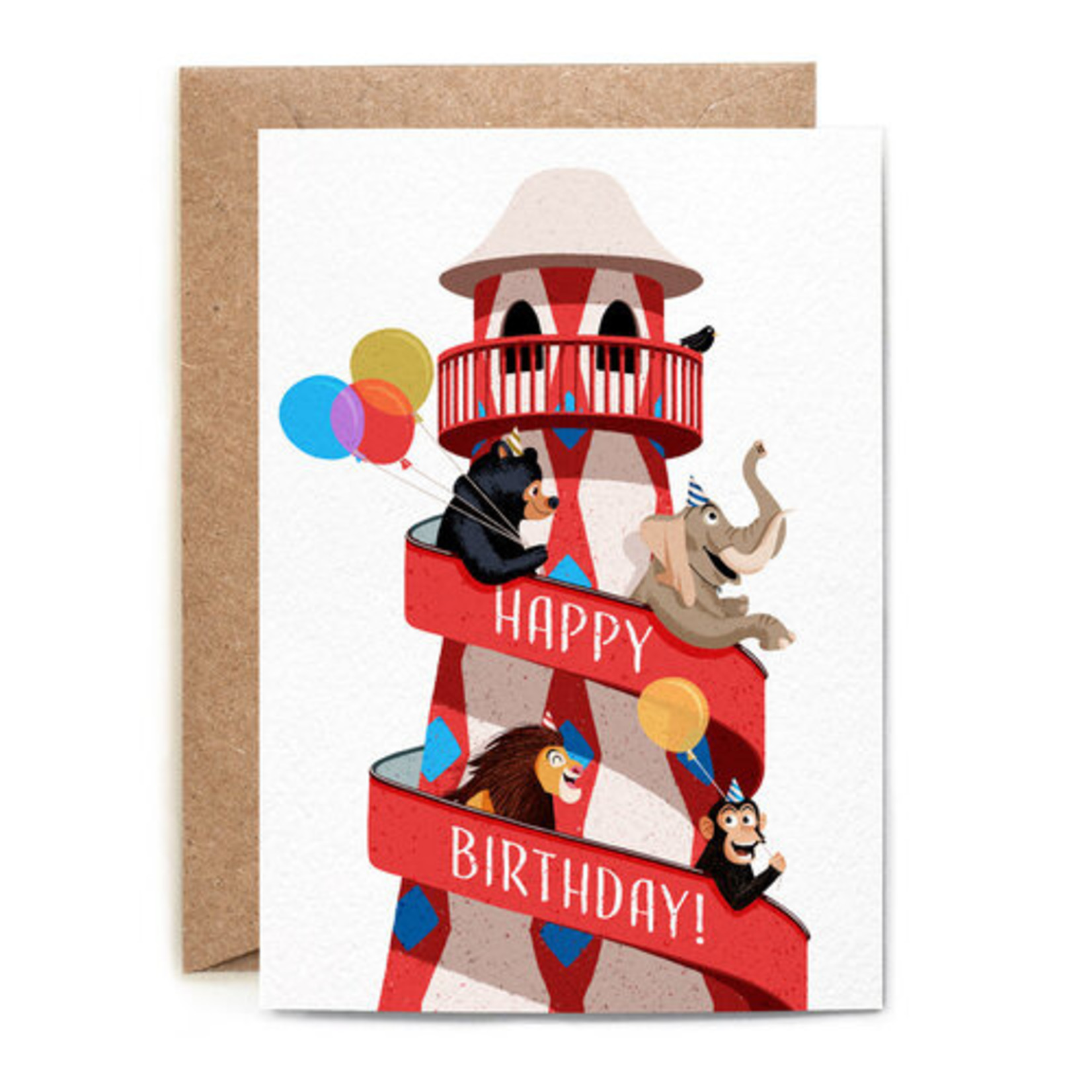 Birthday Card: Birthday Zoo