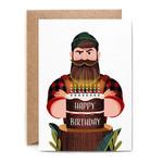 Birthday Card: Lumberjack