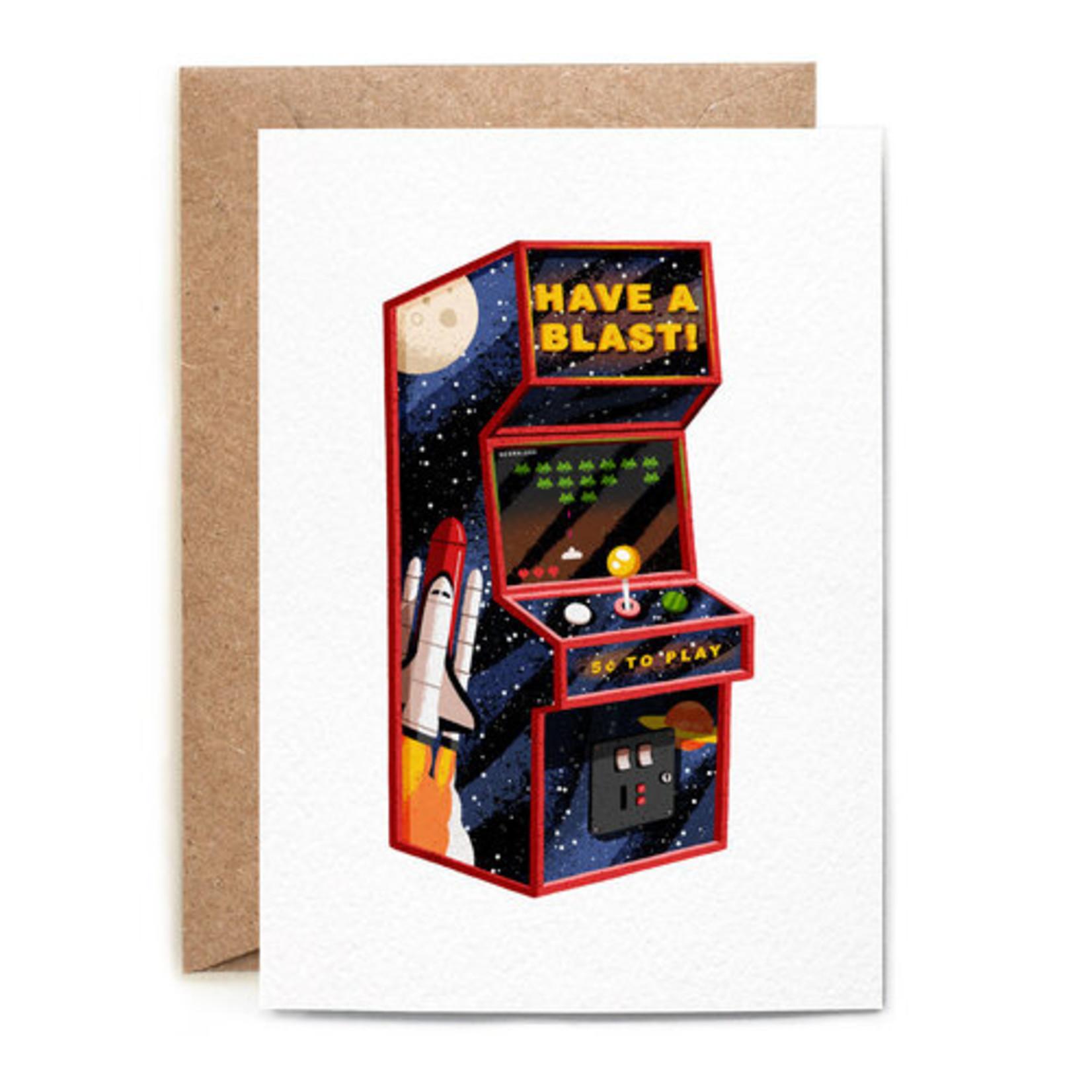Birthday Card: Arcade Game