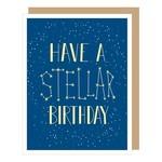 Birthday Card: Stellar Birthday