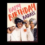 Birthday Card: Birthday Badass