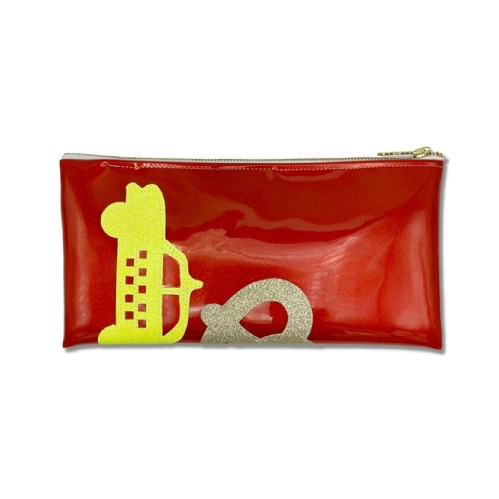 Julie Mollo NYC Collage Clutch!
