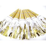 Party Partners Design Tasseled Party Horns Gold Stars