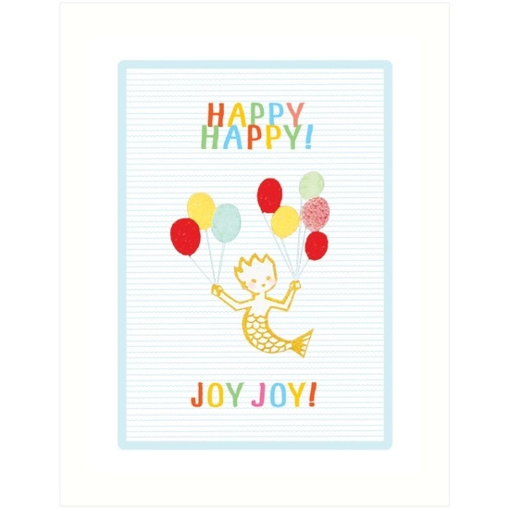 Baby Card:  Happy Happy, Joy Joy