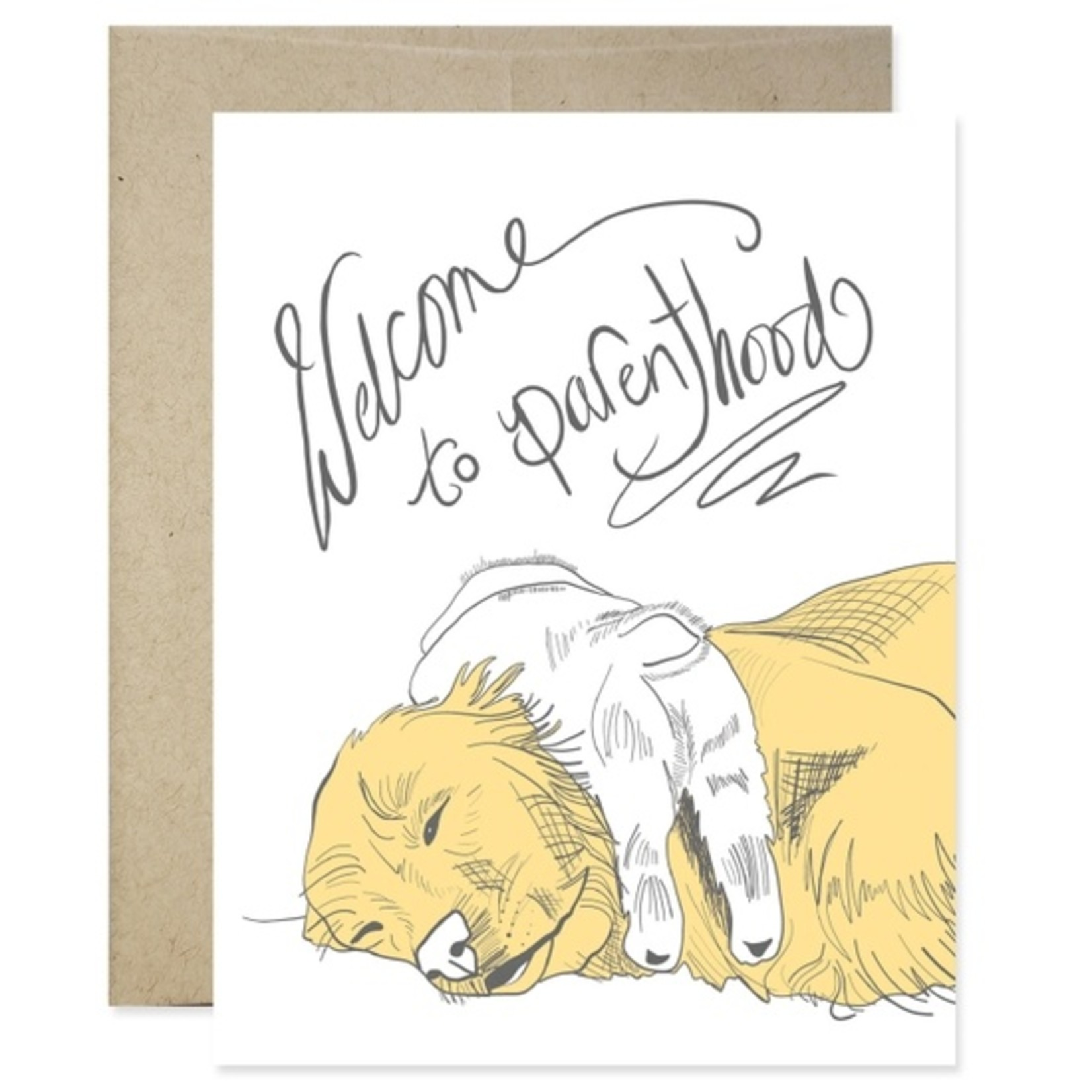 Baby Card:  Welcome To Parenthood
