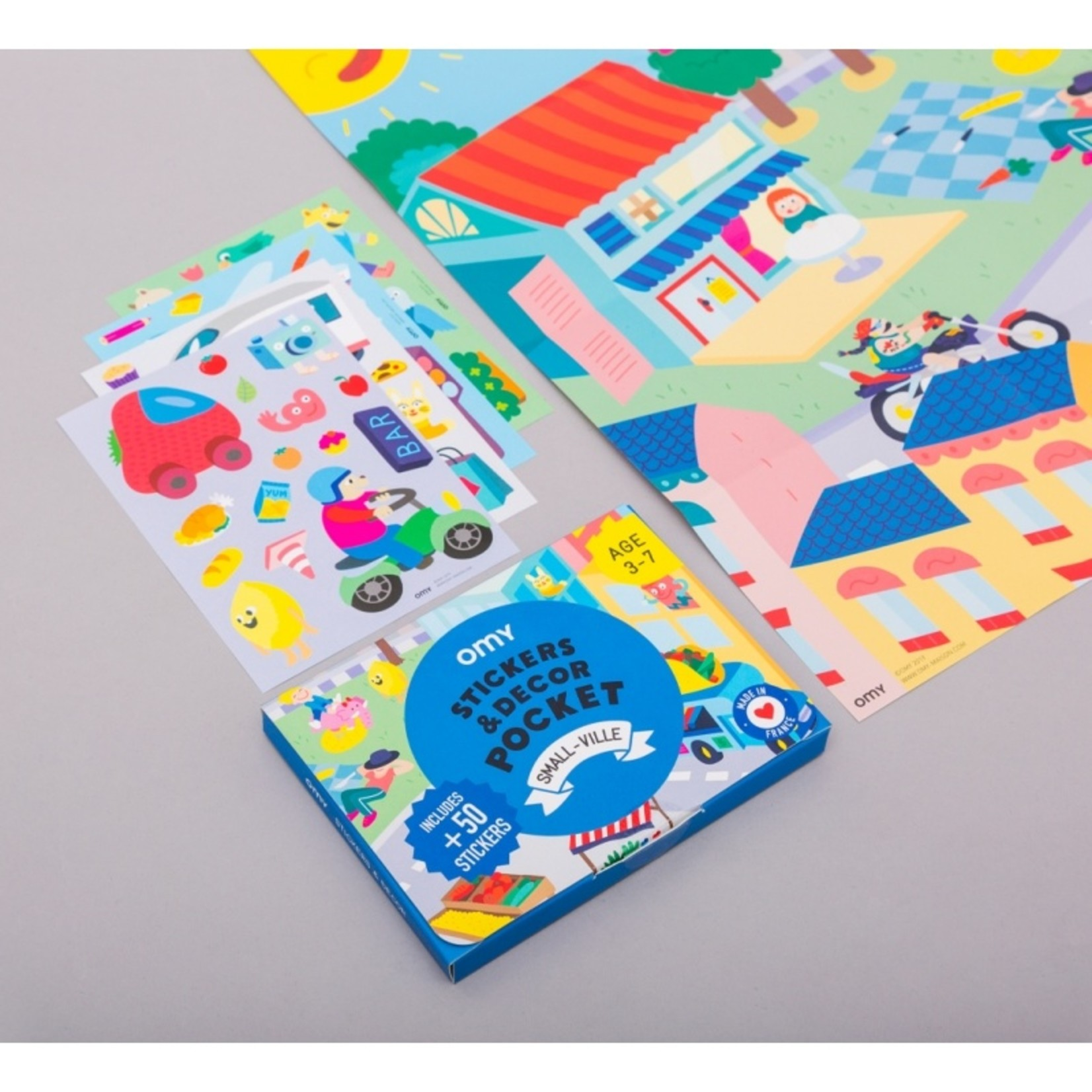 Small-Ville Pocket Stickers