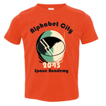 Exit9 Gift Emporium Space Academy T-shirt in Alphabet City