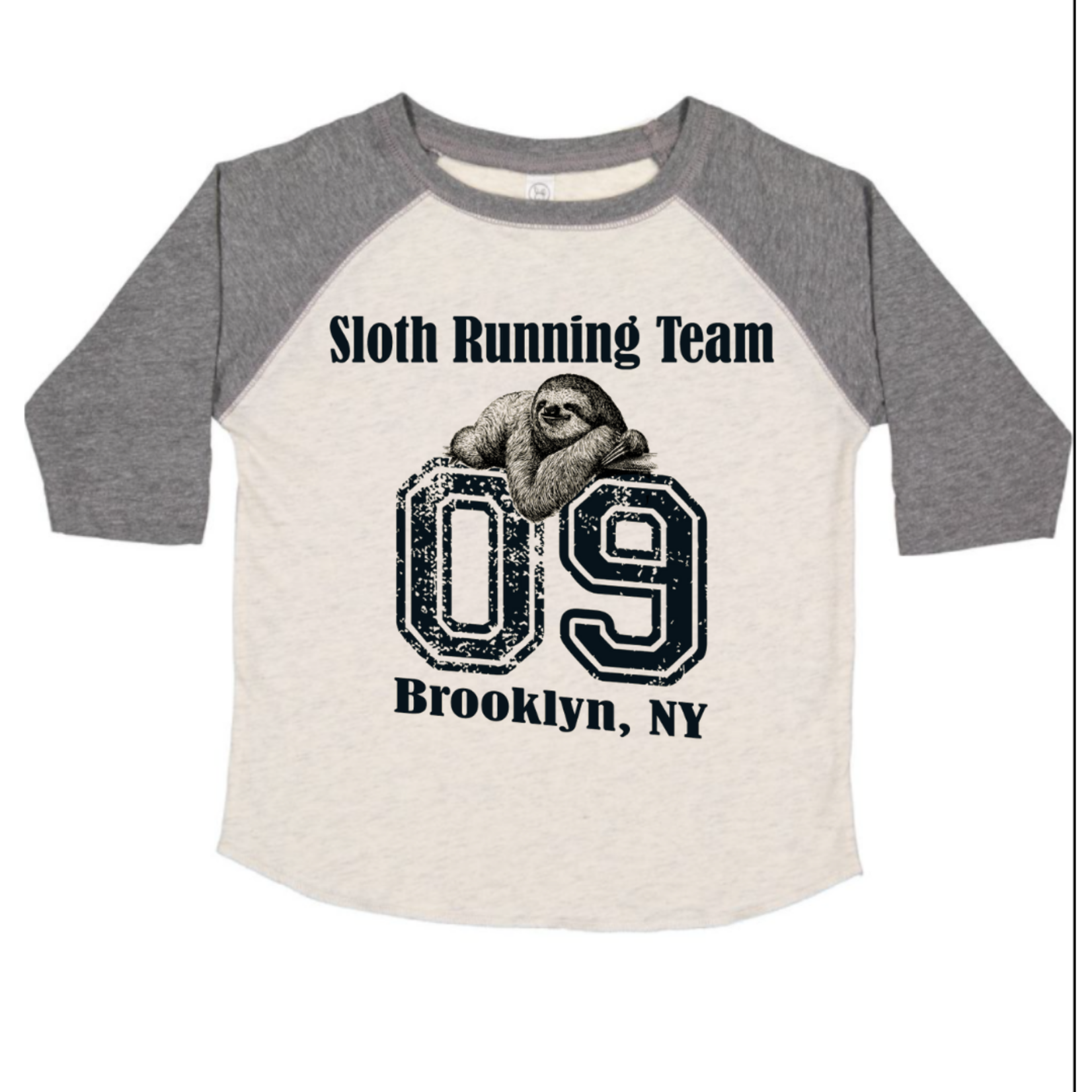 Exit9 Gift Emporium Sloth Racing Team T-shirt in Brooklyn