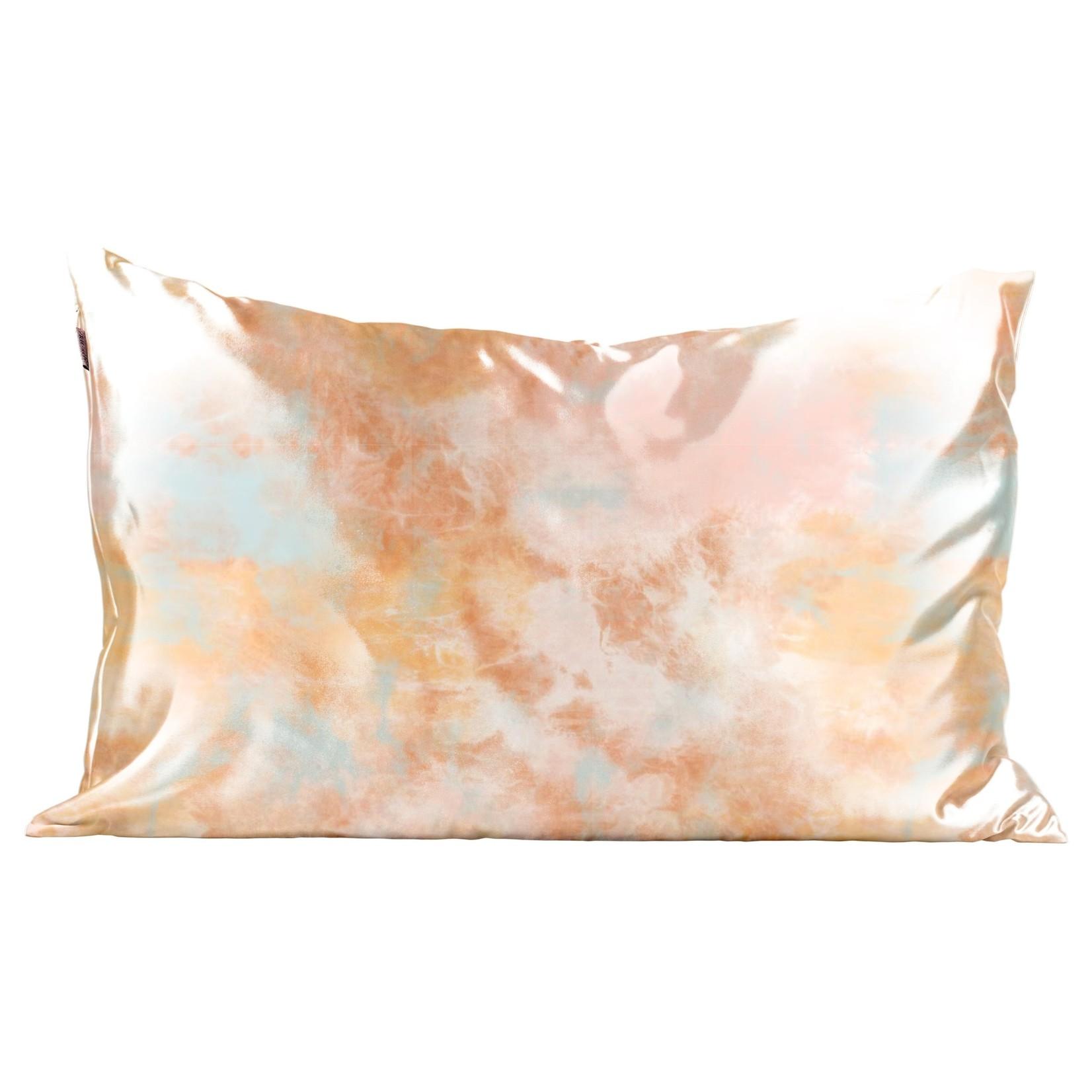 Kitsch Tie Dye Satin Pillowcase