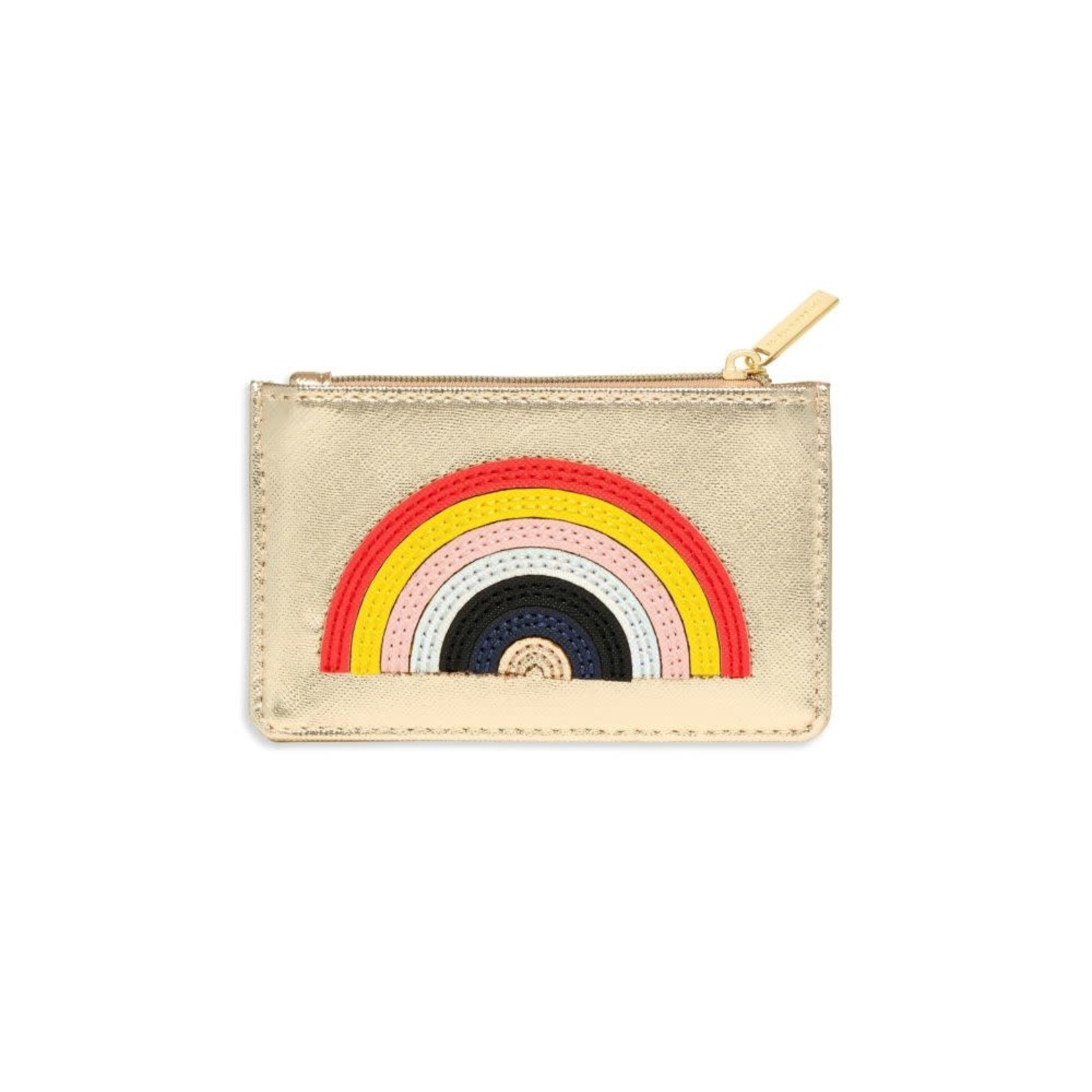 Gold Rainbow Card Purse