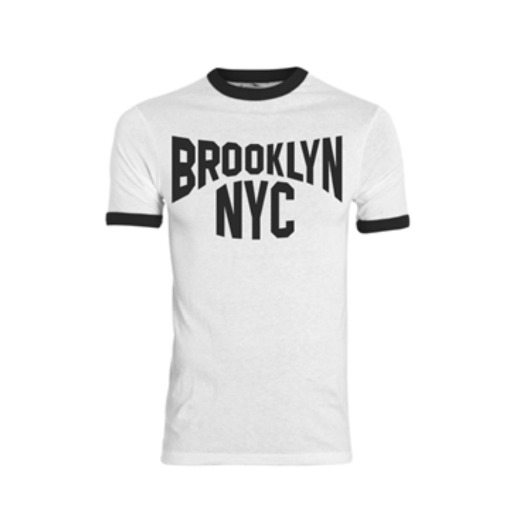 Exit9 Gift Emporium Brooklyn T-Shirt in White/Black