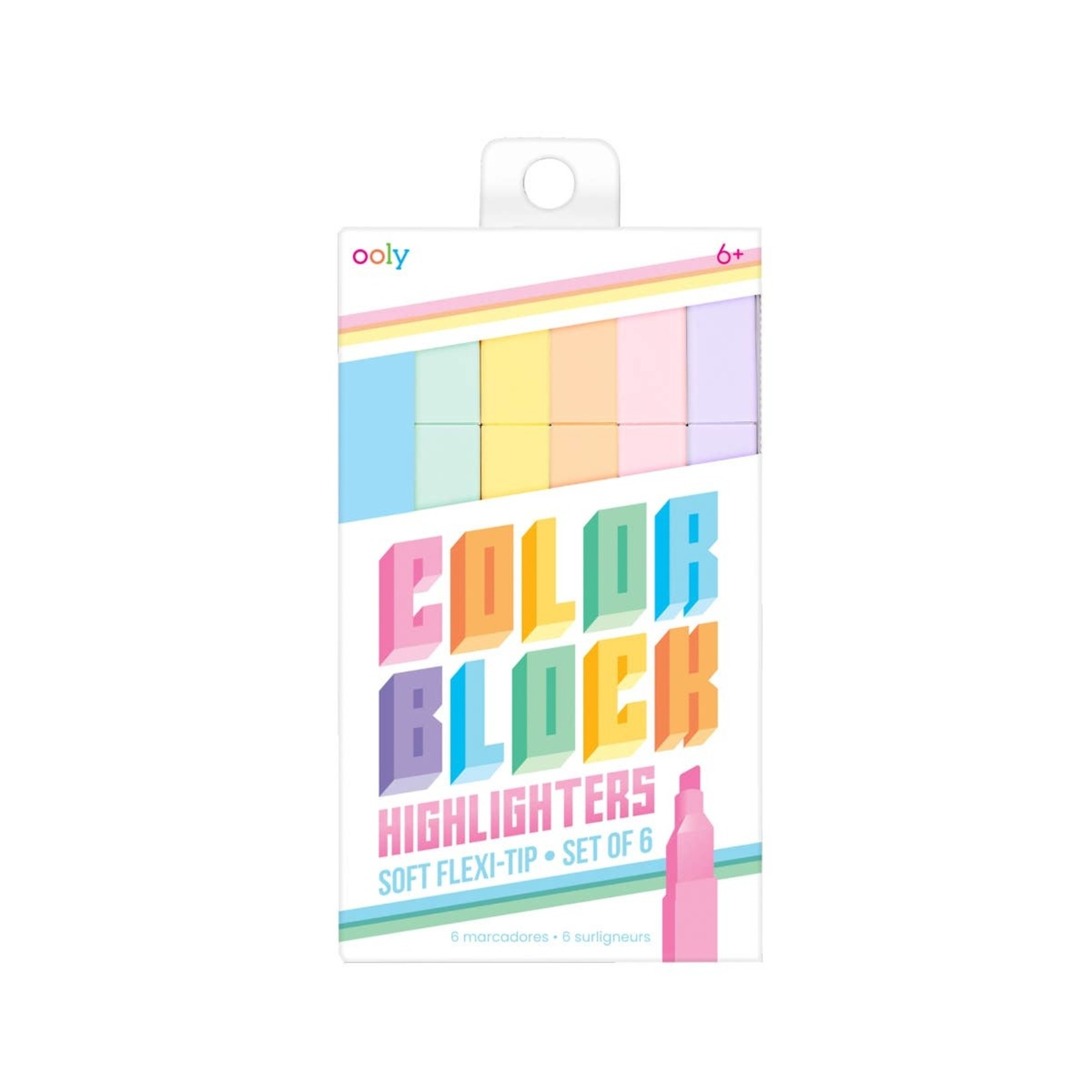 Color Block Highlighters