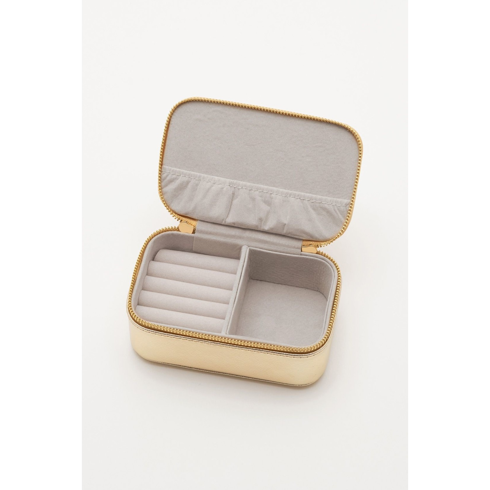 Gold Rainbow Mini Jewelry Box