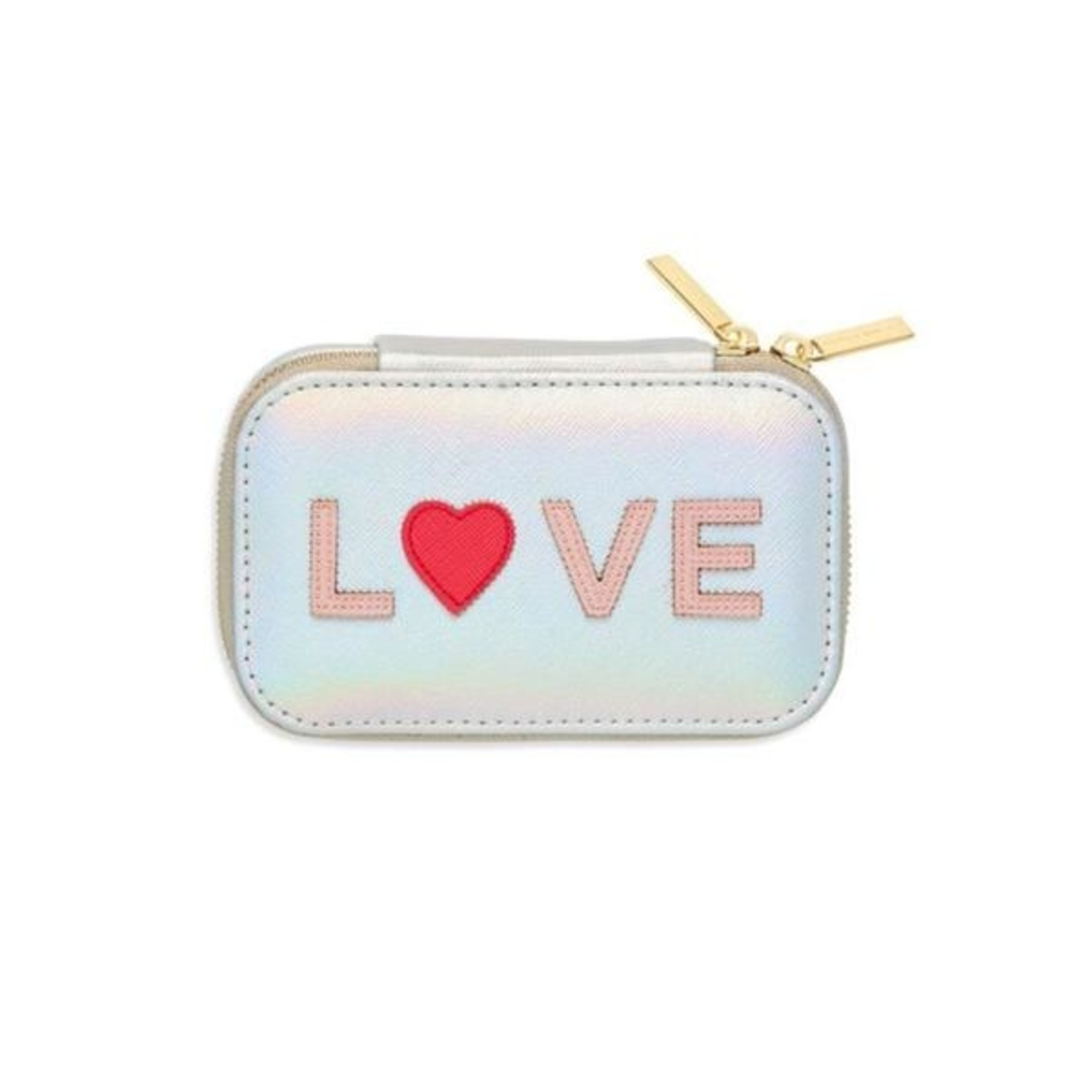 Iridescent Love Mini Jewelry Box