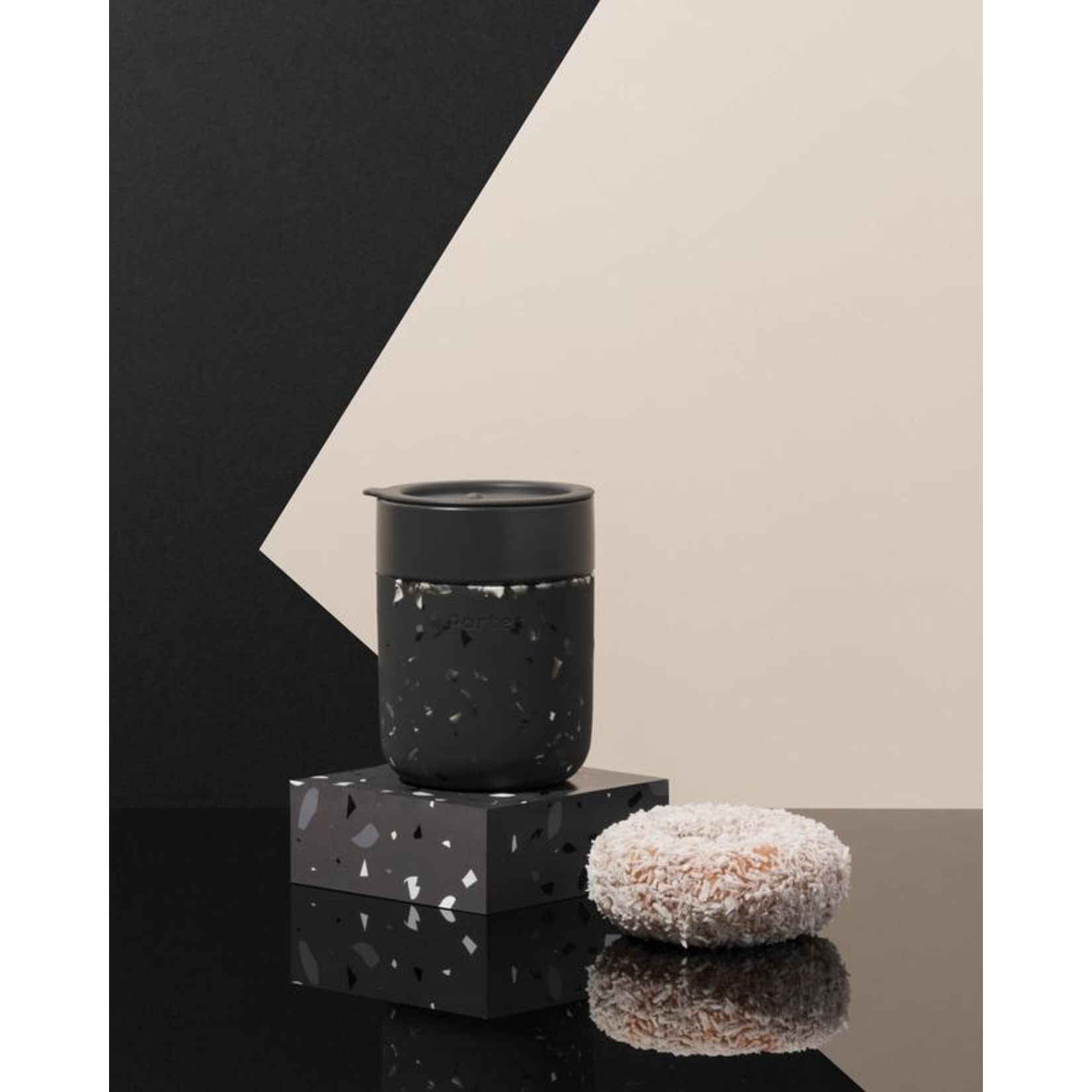 Porter Terrazzo Mug in Charcoal
