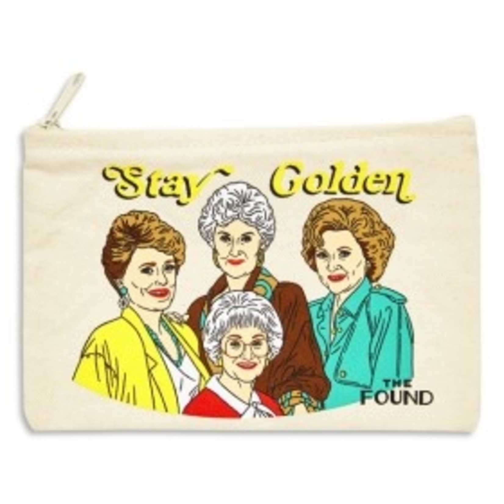 The Found Stay Golden Pouch