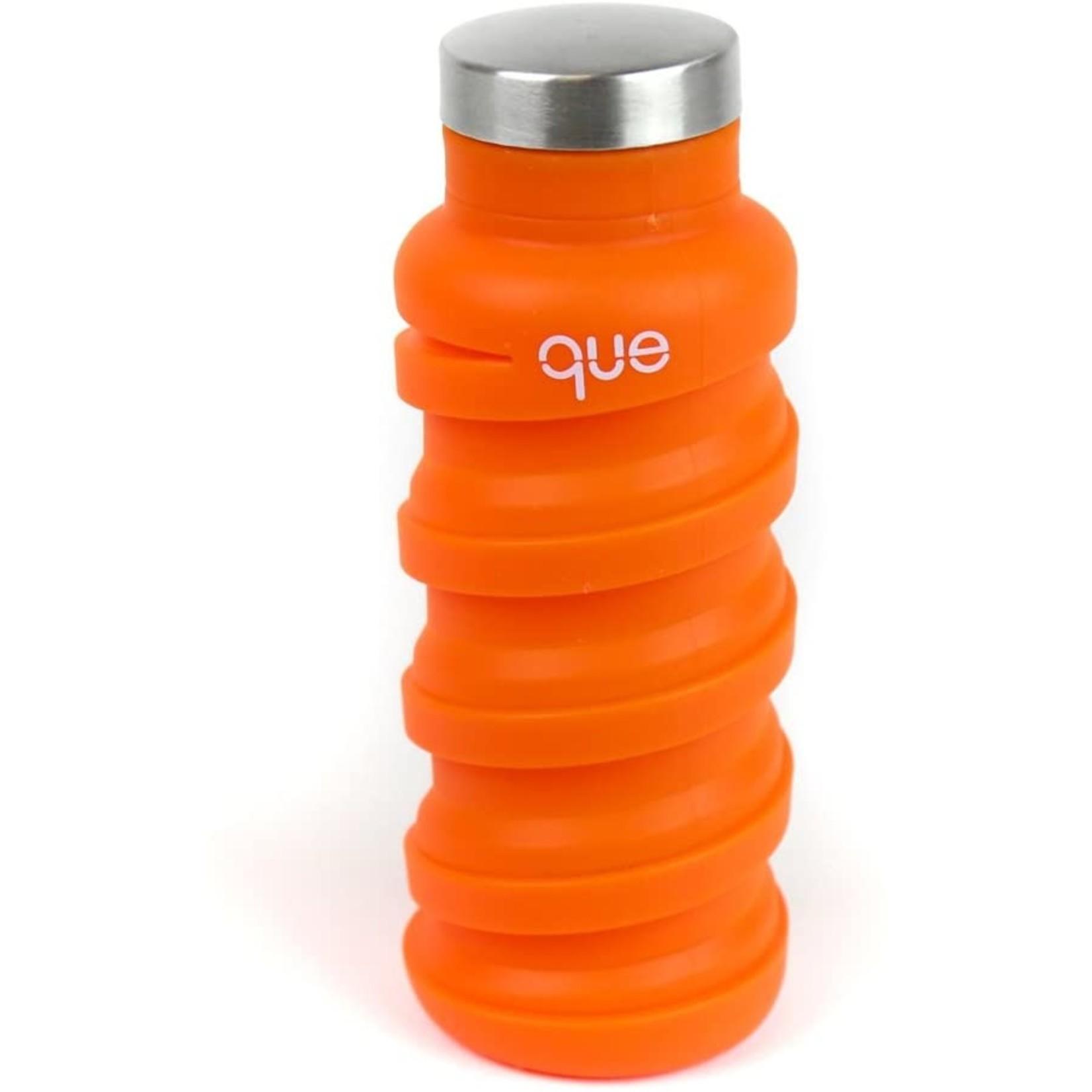 Que Bottle 12 oz in Sunbeam Orange