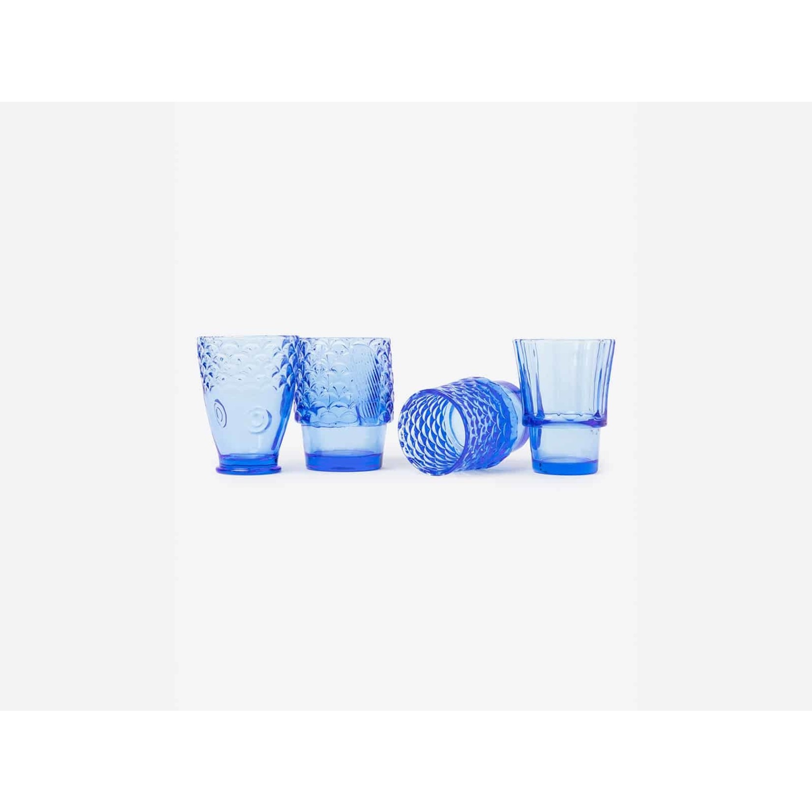 Koifish Stackable Glasses in Blue