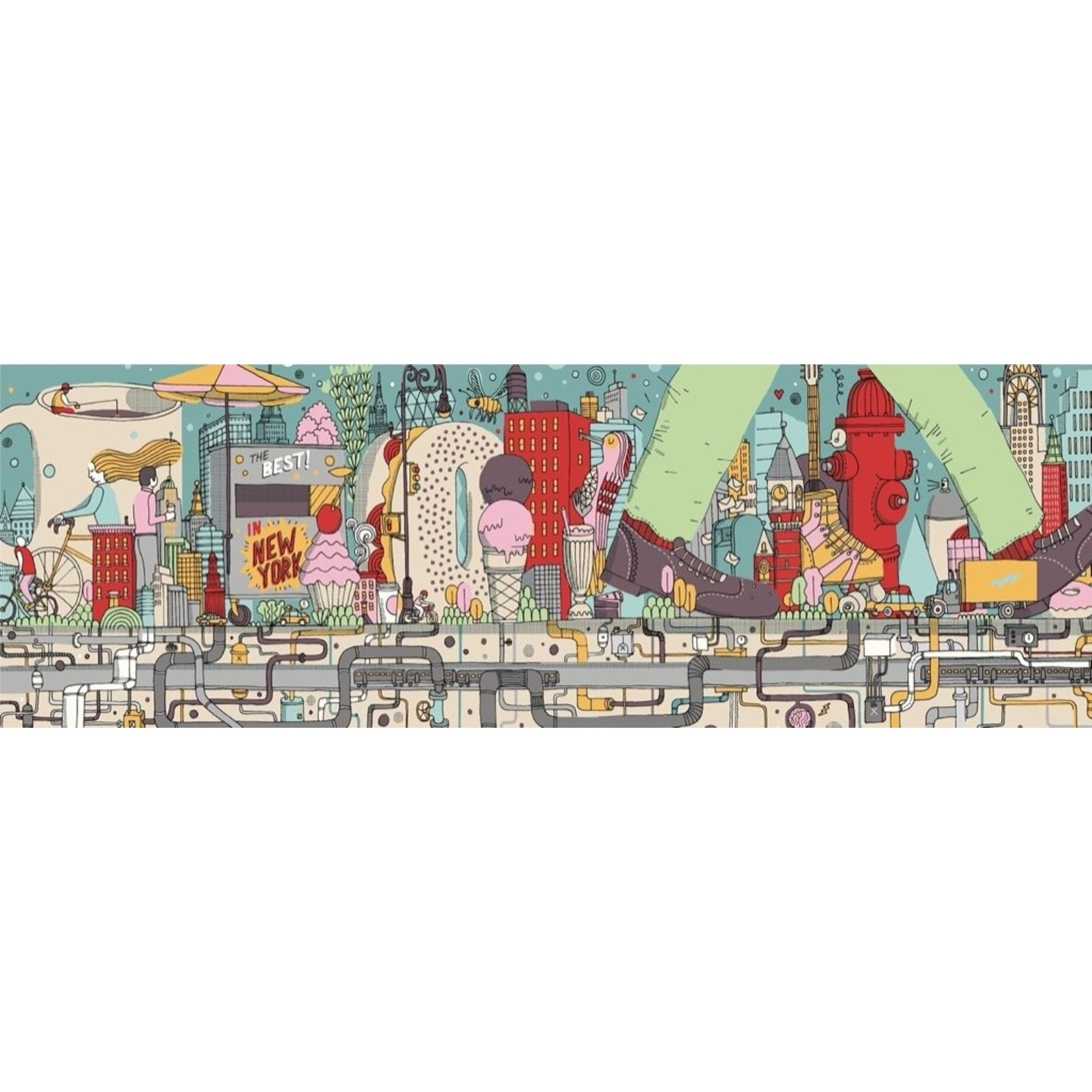 New York Puzzle Company Walking New York Puzzle